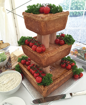 Truffle Events put one couple's savoury dreams on a pork pie pedestal