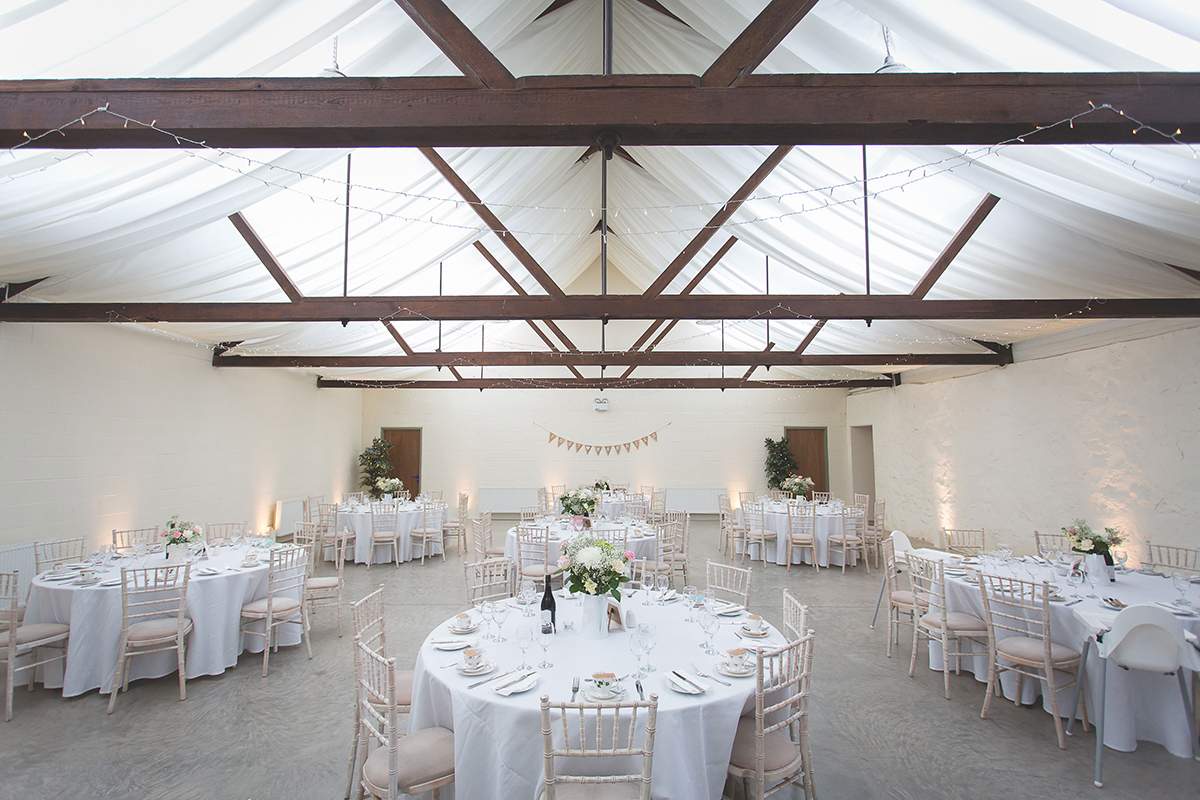Bachilton Barn's reception room