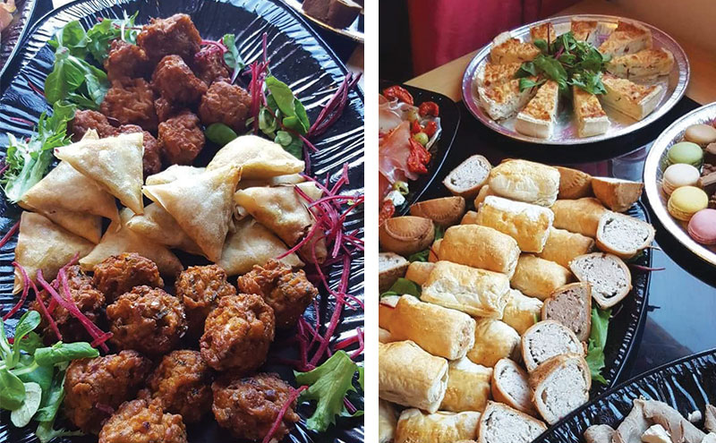 3G Catering Services has loads of fresh ideas for buffets