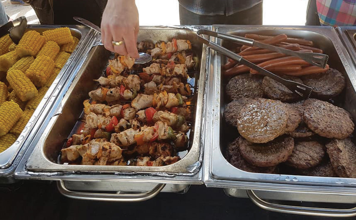 The Hairy Coo Catering Company serves up some extremely tasty grub