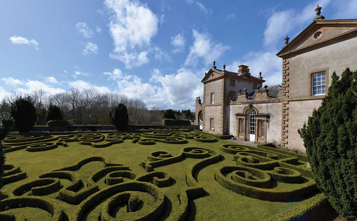 Although Chatelherault can host full weddings, it often serves as the opulent setting for an exchange of vows before the couple and their guests zoom away to a second party location