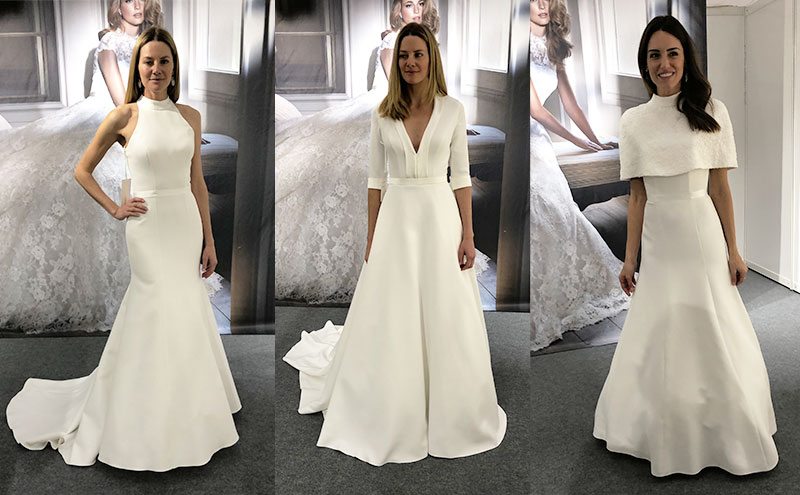 Caroline Castigliano gowns from her 2020collection