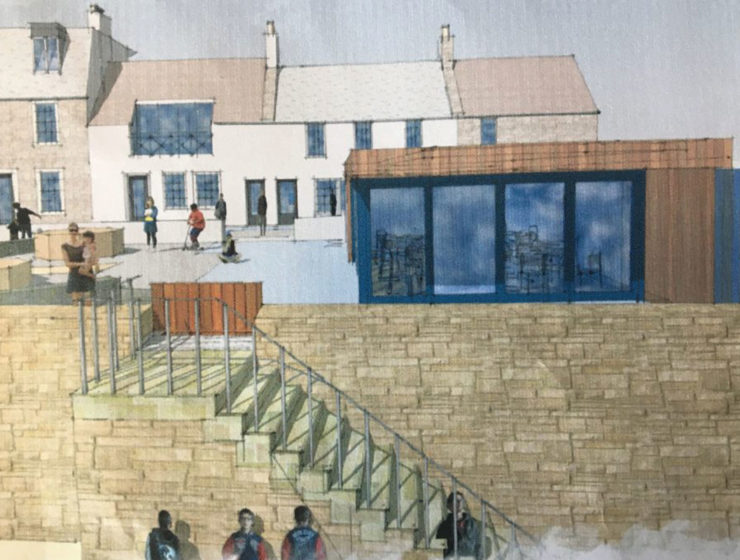 artist's impression of ship's cabin, elie