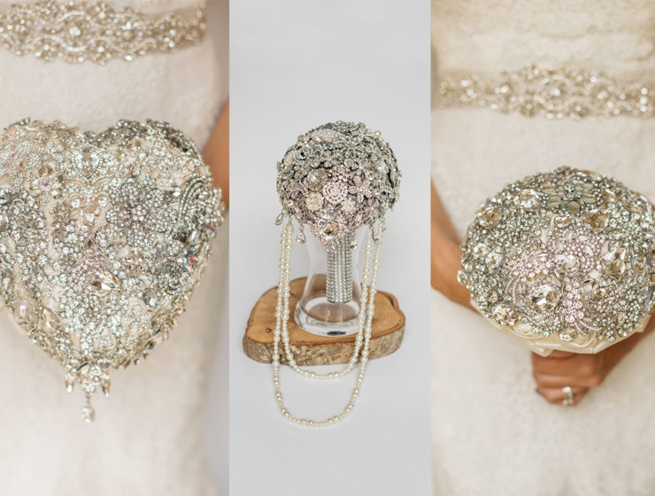 brooch bouquets uk