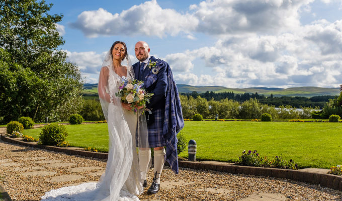 bride-and-groom-outside-in-the-sun