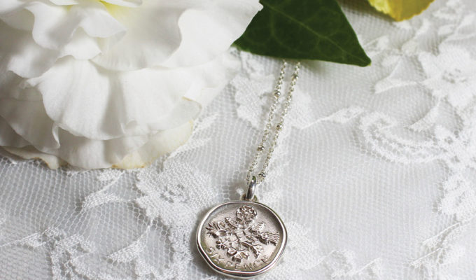dower-and-hall-silver-sizpence-necklace