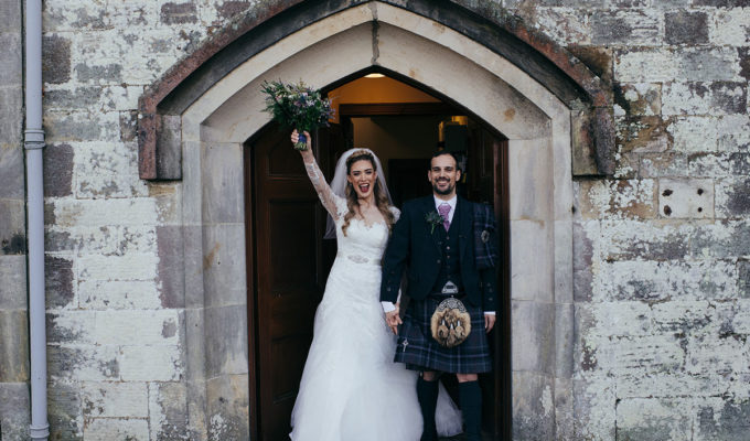 bride-and-groom-leaving-church