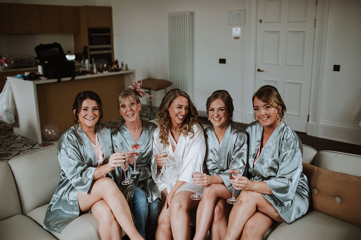 bride-and-bridesmaids-in-matching-robes