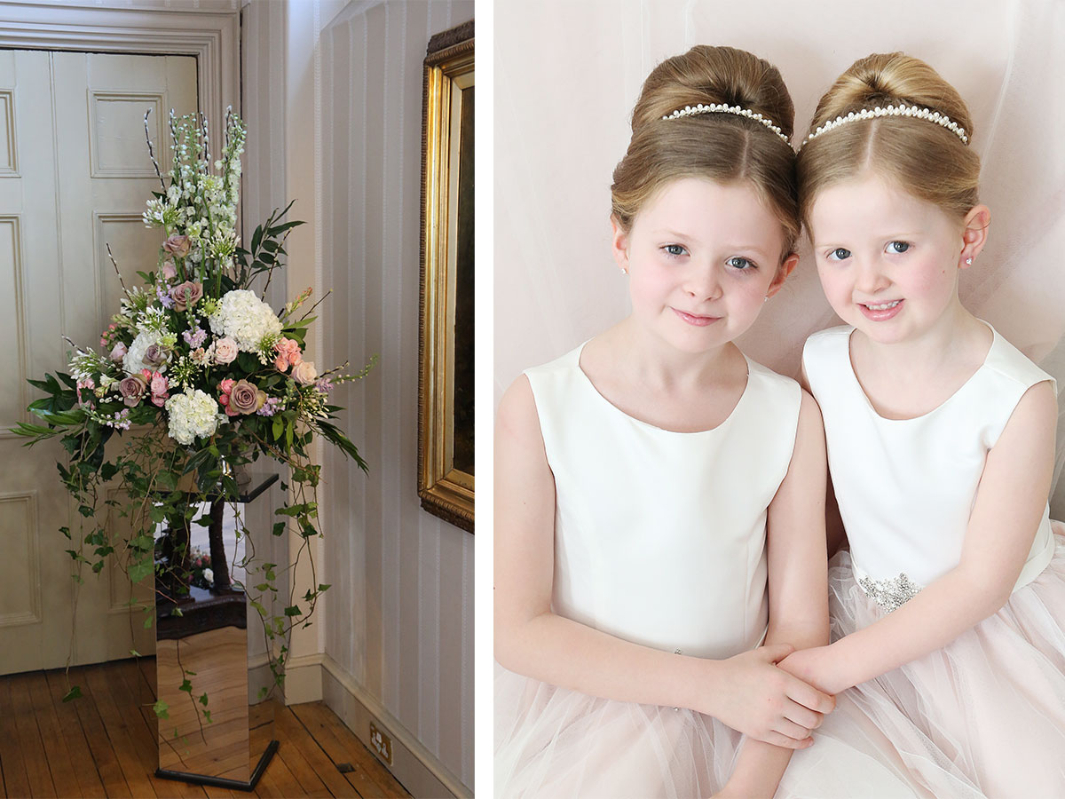 tall-floral-arrangement-and-flower-girls