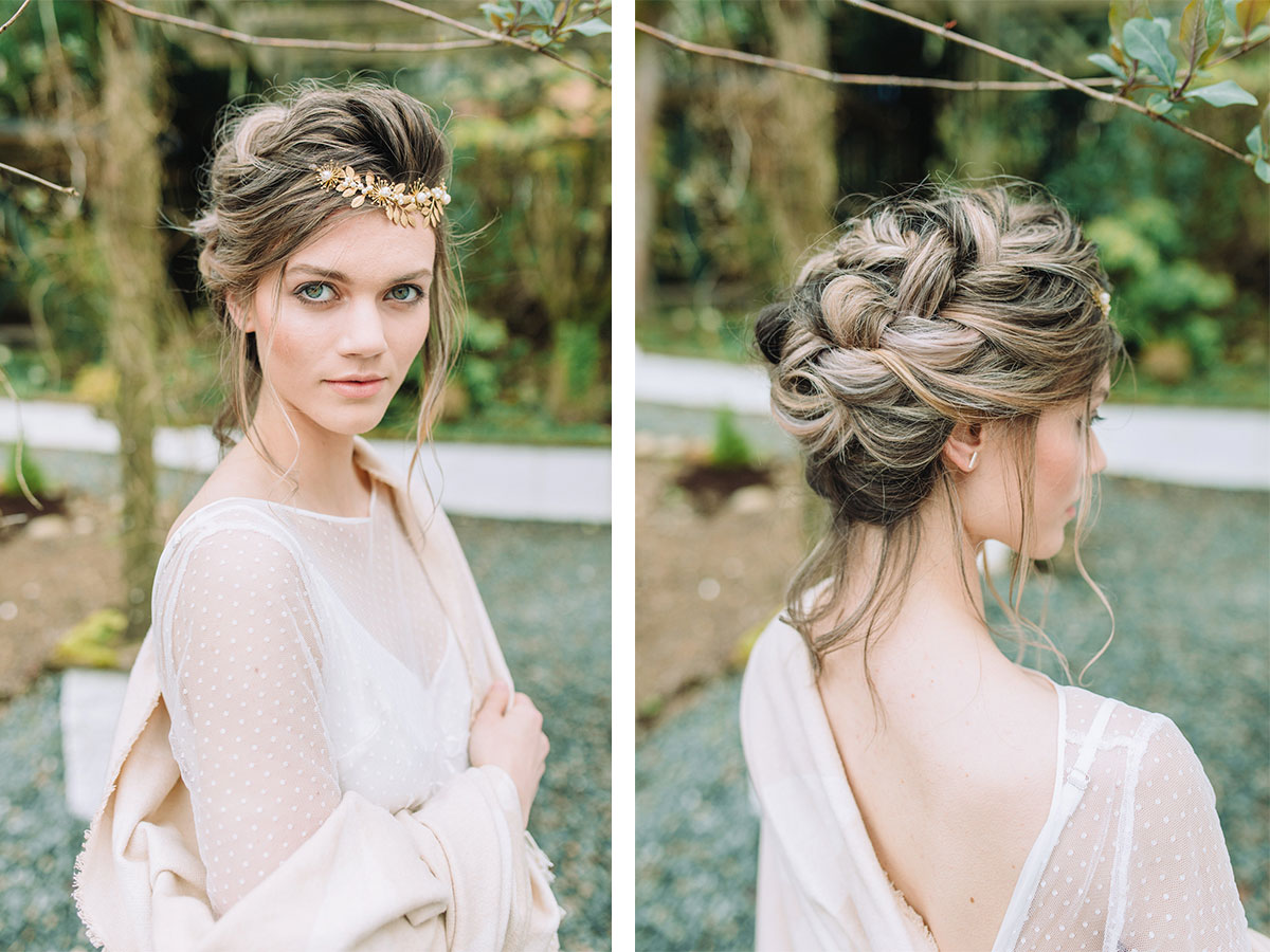 tousled-bridal-hair-with-gold-headpiece
