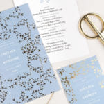 rosemood blue hot foil
