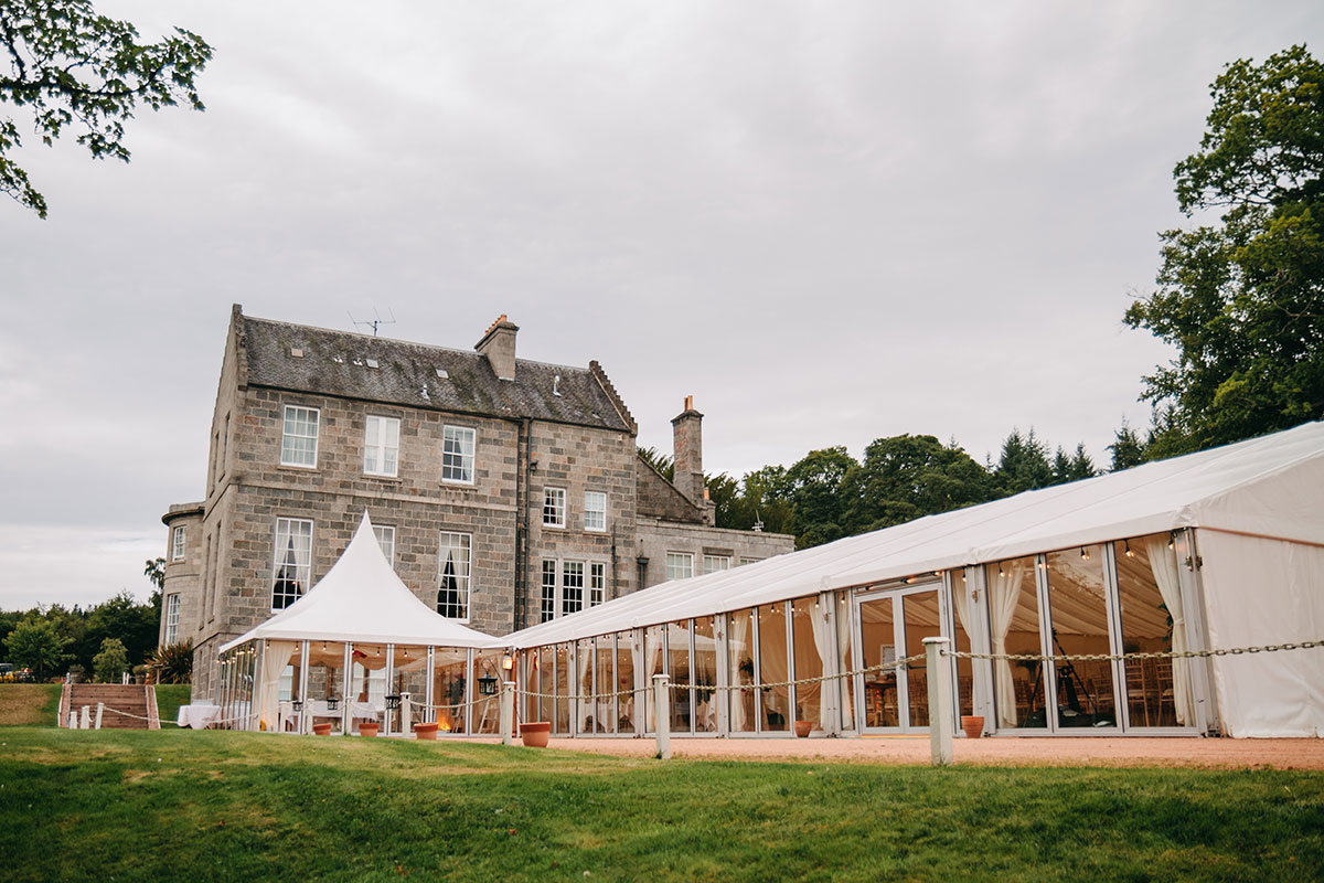 marquee-outside-castle