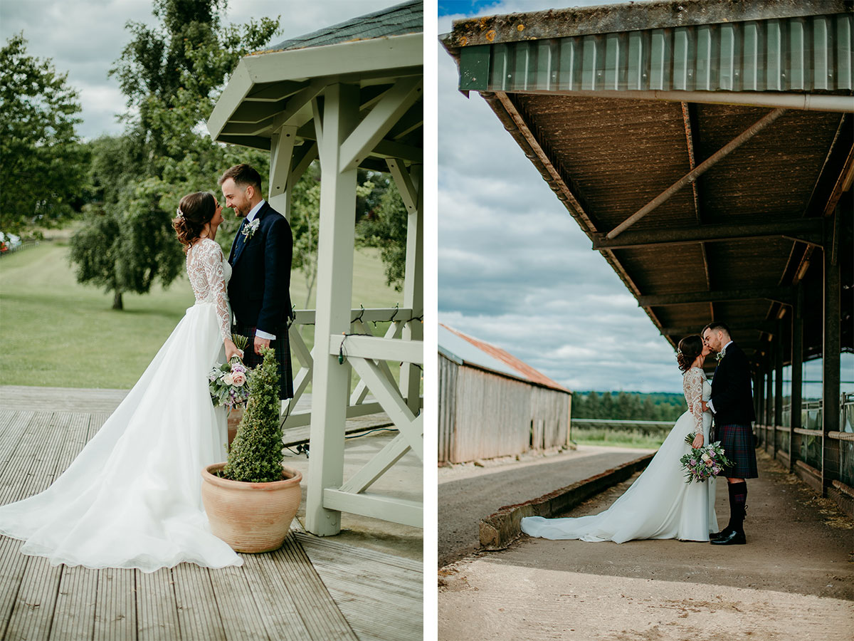 bride-and-groom-standing-at-the-pavillion