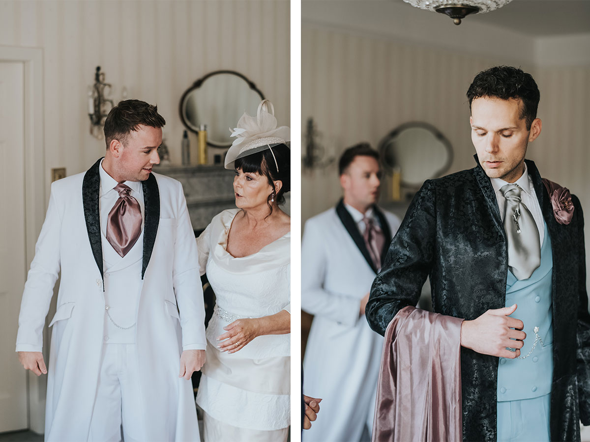 grooms-getting-ready-for-their-ceremony