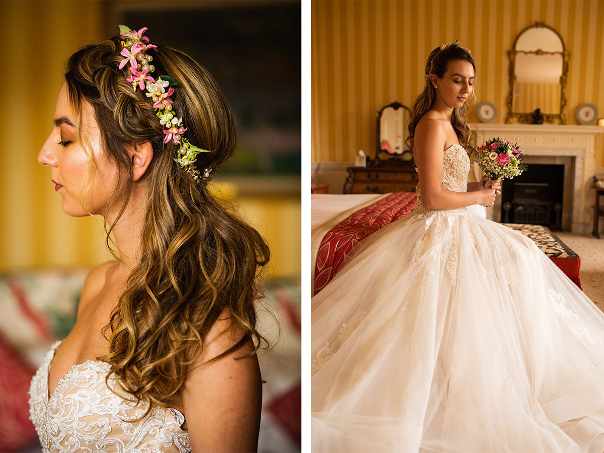 bridal-model-with-tropical-floral-headpiece