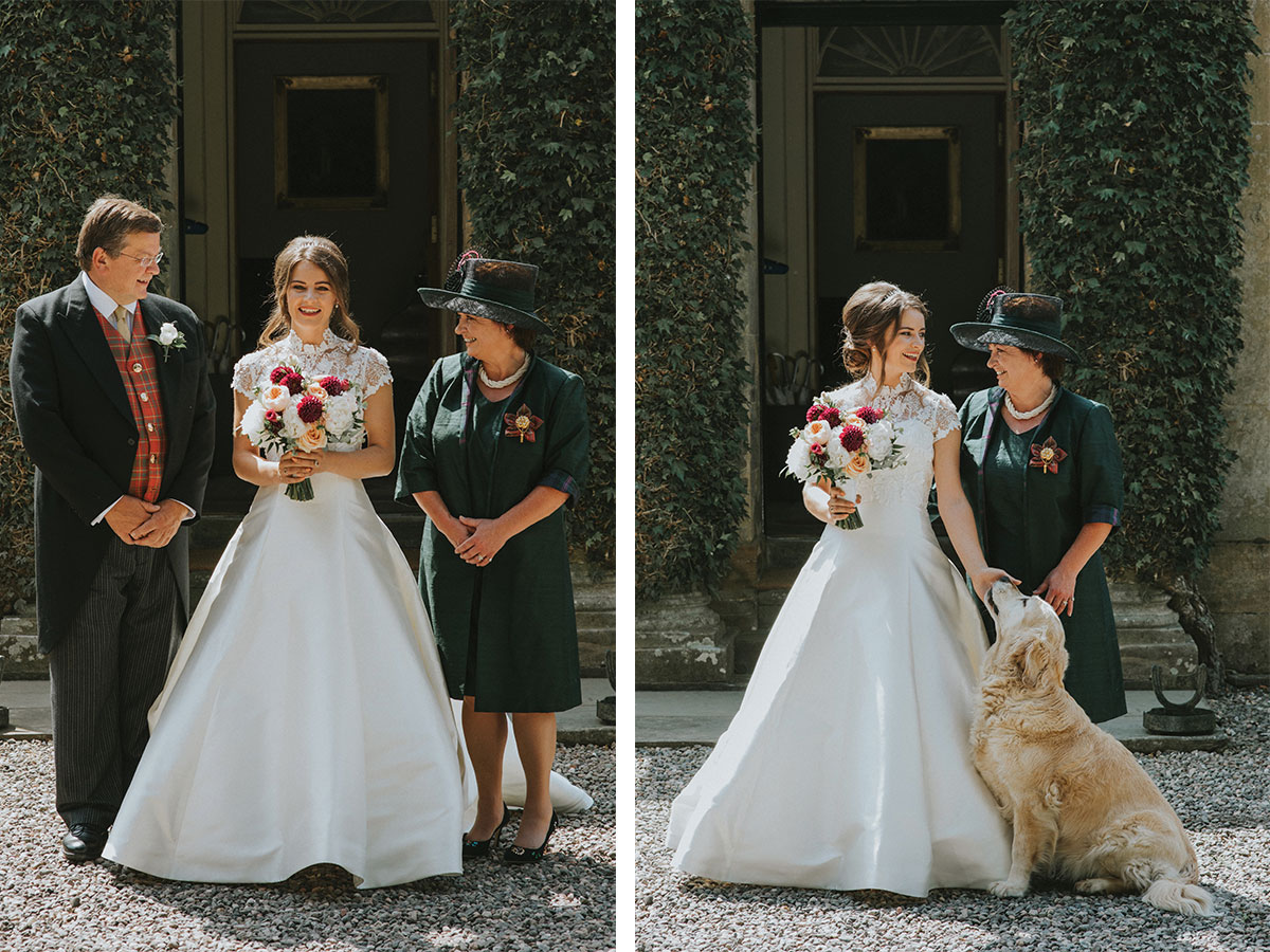 bride-with-mum-dad-and-dog