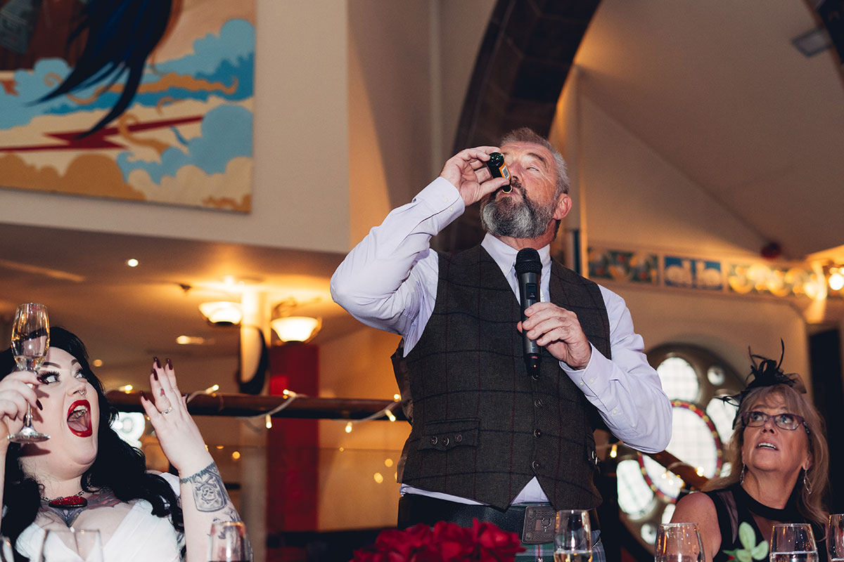 father-of-the-bride-drinking-buckfast-during-the-speeches