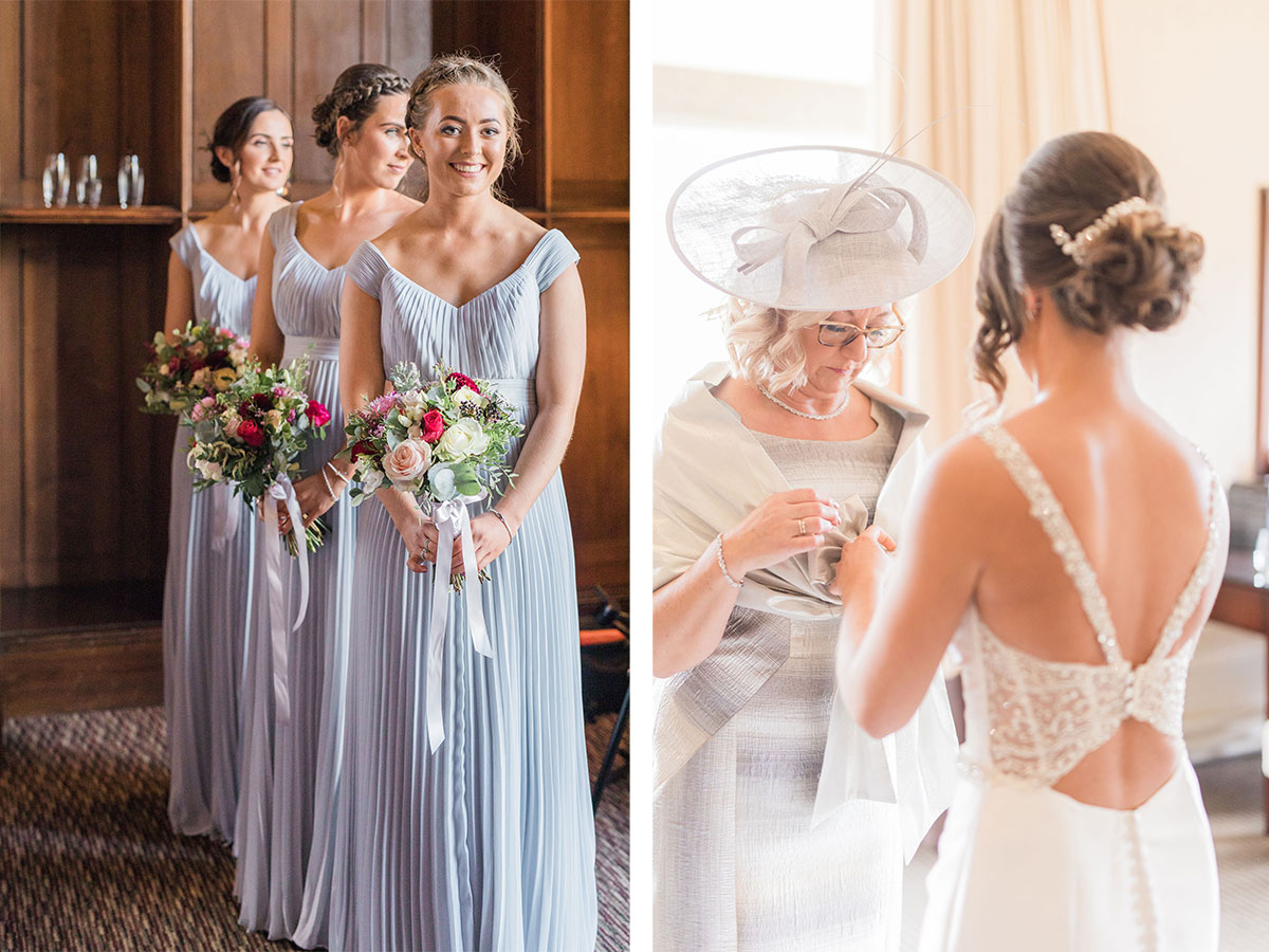bridesmaids-in-pastel-blue-dress-and-bride-and-mother-of-the-bride-getting-ready