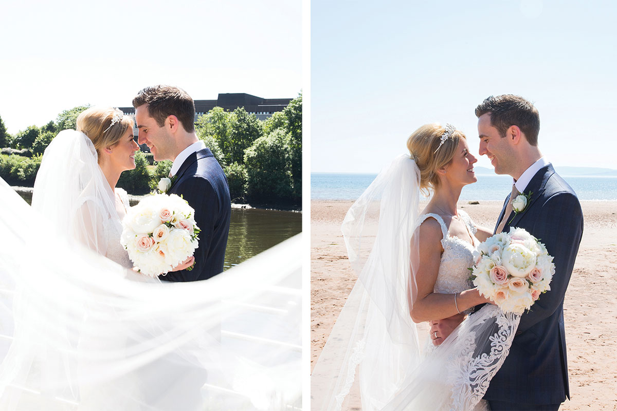 bride-and-groom-by-the-shore-and-riverside
