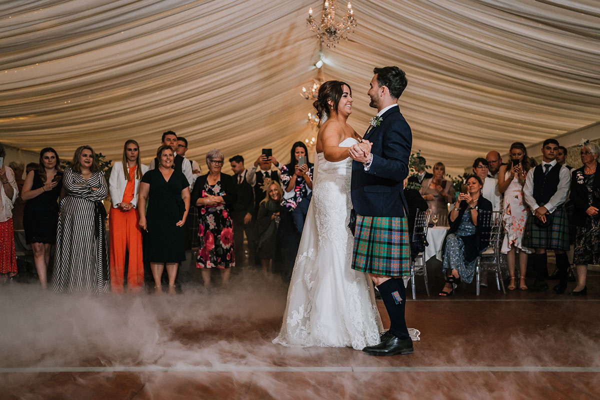first-dance-with-smoke-machine