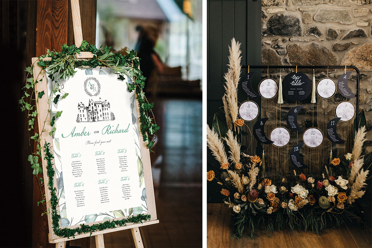 table-plan-with-greenery-woven-round-it-and-pampas-grass-boho-table-plan