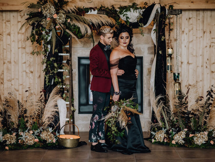 RoodleaBarn-autumn-gothic-halloween-barn-wedding-bride-groom
