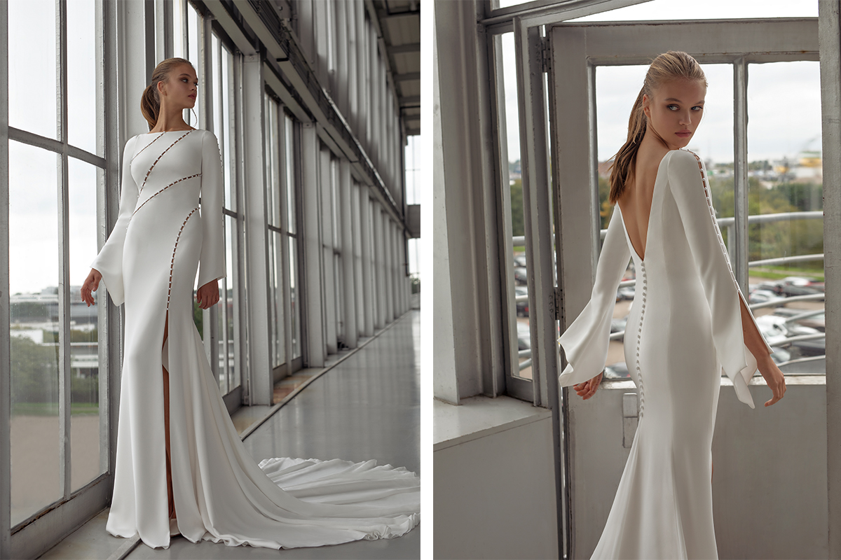 Lena gown by Le Papillon by Modeca