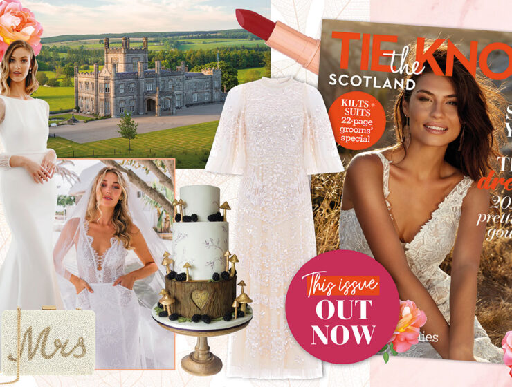 Tie the Knot Scotland issue 70 collage