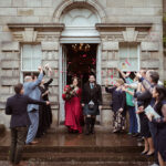 National Trust for Scotland just married couple at Pollok House by Mark Timm Photography