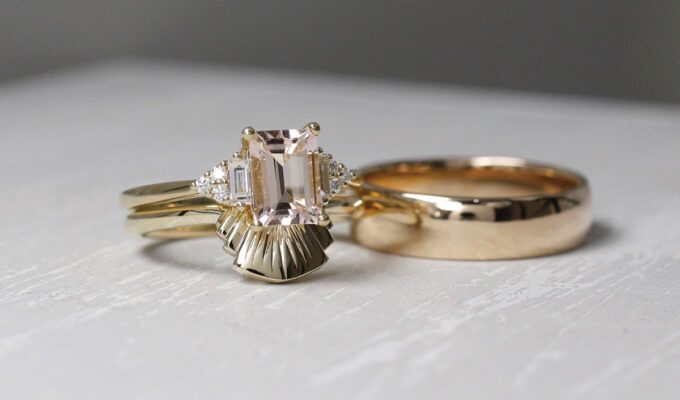 wedding bands from Brazen Jewellery