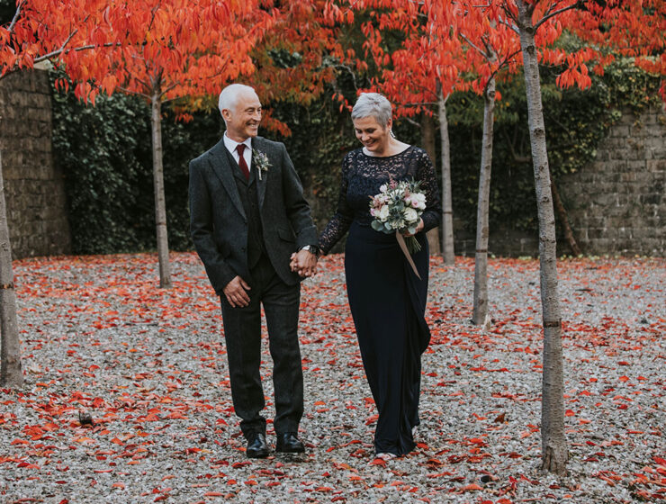 Norton House Hotel Iris Art Photography autumn wedding older couple
