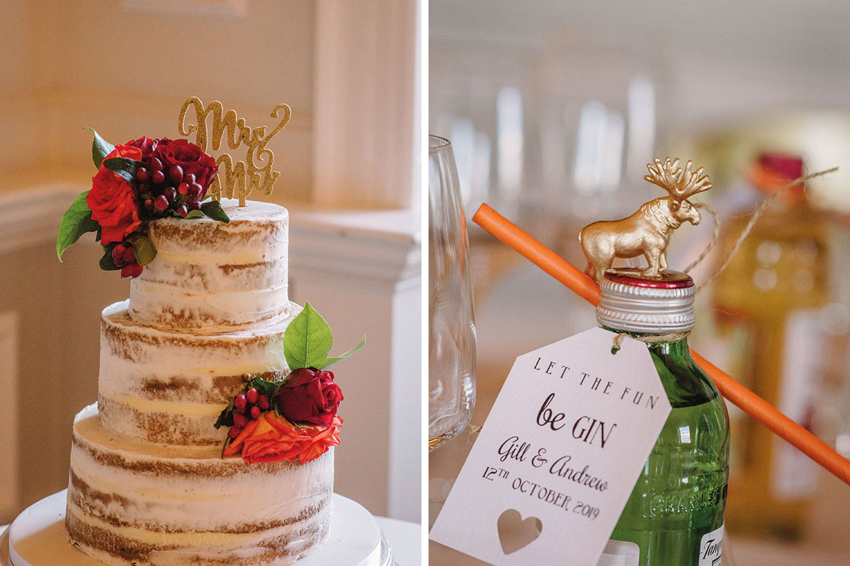 wedding-cake-and-gin-wedding-favours