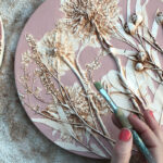 Imprint Botanical Casts hand painting flower cast