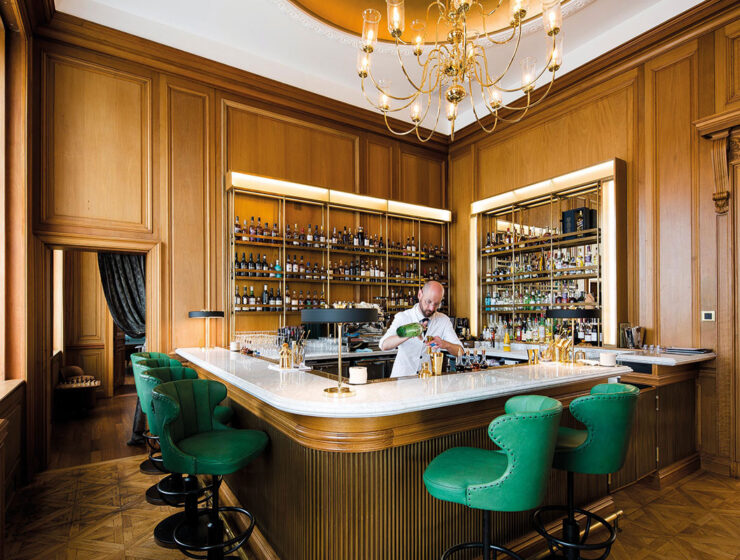 Bar person at The Register Club at Cheval The Edinburgh Grand