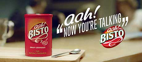 A roast dinner with Bisto gravy gets the conversation as well as gastric juices flowing, according to the brand's latest advertising campaign.