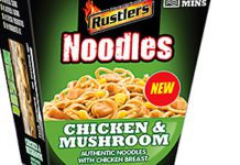 RUSTLERS Noodles Pot Snacks are the latest addition to the Kepak Convenience Foods portfolio.