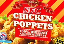 AN 11-strong range of frozen snacks, including premium Chicken Poppets with the Red Tractor logo, above, has been launched by poultry specialist SFC.