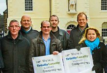 Members of Lanark Business Group launch Totally Locally Lanark.