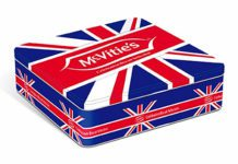 BISCUITS and cakes firm United Biscuits reckons it's giving retailers a patriotic boost in 2013 with the launch of its McVitie's limited edition Celebration Tin.