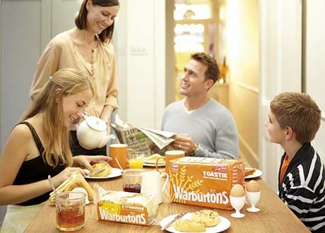 Warburtons stresses the importance of bread to small stores, especially its Toastie loaf.