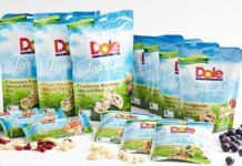 FRESH fruit giant Dole has launched its first range of snacks, called Live Right. Based on dried fruit, nuts, seeds and rice, it comes in on-the-go and store cupboard pack sizes.