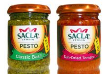 PRICE-MARKED packs of food lines Sacla' pesto, Nando's Peri-Peri sauces and marinades, and Pizza Express salad dressings, are to be introduced into wholesalers and convenience retailers.