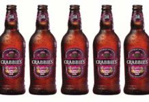 TWO new fruity flavours have been introduced to give Crabbie's Alcoholic Ginger Beer a summer boost.