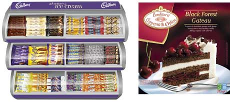 2012 was Fredericks Dairies' best year. It makes Cadbury Ice Creams, which was sole packaged ice cream provider to the London 2012 Olympic and Paralympic Games. Coppenrath & Wiese is currently investing heavily in a bid to boost the frozen desserts category.