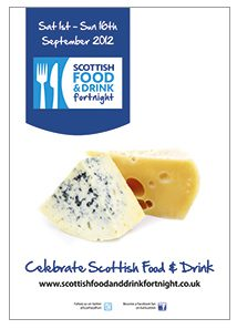 An example of last year's Scottish Food & Drink Fortnight's downloadable POS material. As this issue of Scottish Grocer went to press, materials for 2013 were expected to go online soon.