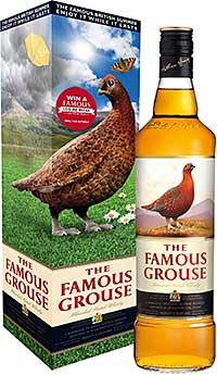 THE British summer is something to celebrate, whatever the weather. That's the message from The Famous Grouse's summer sales push, using the slogan: 'The Famous British Summer – Enjoy It While It Lasts'.