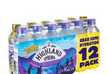 Capri-Sun, promoting over the summer, and Highland Spring single-serve multi pack, said by the firm to be contributing to category growth.
