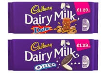 Mondelez International has been combining brands such as Oreo and Daim with Cadbury Dairy Milk. Now they're available in PMPs.