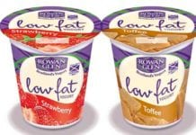 Rowan Glen's redesigned packs for its low-fat bio range.