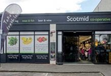 The Scotmid store at Barnton in Edinburgh, one the independent co-op's premium fresh stores.
